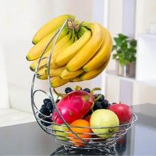 2 in 1 Fruit Bowl Basket & Banana Hook